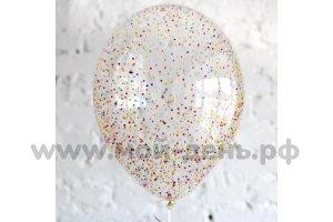шар с конфетти пено-ассорти