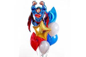 """Сэт из шаров """"Супермен"""""""