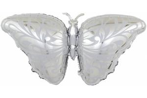 Бабочка серебро