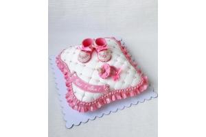 Торт на годик или на рождение малыша